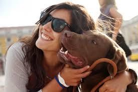 Dame-mit-hund