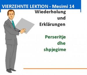 VIERZEHNTE LEKTION - Fjalor Gjermanisht Shqip | Deutsch ...